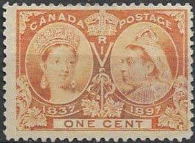 Canada 1897 SG 122 Jubilee Issue Fine Used