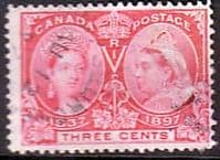 Canada 1897 SG 126 Jubilee Issue Fine Used