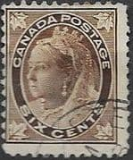 Canada 1897 SG 147 Queen Victoria Good Used