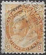 Canada 1898 Queen Victoria SG 161 Good Used