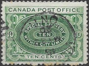 Canada 1898 SG S2 Special Delivery Fine Used