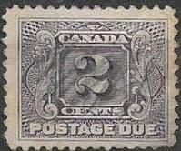 Canada 1906 Postage Due D3 Fine Used