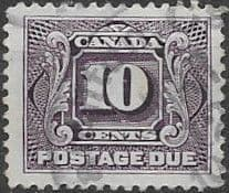 Canada 1906 Postage Due D8 Fine Used