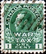 Canada 1915 War Tax SG228 Good Used