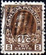 Canada 1916 George V  ITC War Tax SG240 Good Used