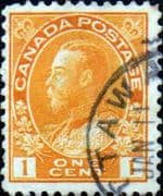 Canada 1922 SG 246a King George V Fine Used