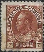 Canada 1922 SG 251 King George V Fine Used