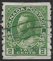 Canada 1922 SG 257 King George V Coil Stamp Fine Used