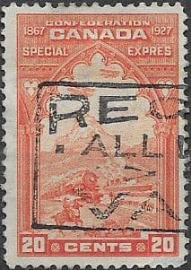 Canada 1927 SG S5 Special Delivery Fine Used