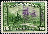 Canada 1928 SG 281 Mount Hurd and Totem Poles Good Used