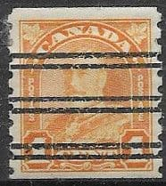 Canada 1930 SG 304 King George V Coil Stamp Fine Used