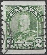 Canada 1930 SG 306 King George V Coil Stamp Fine Used