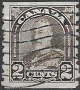 Canada 1930 SG 308 King George V Coil Stamp Fine Used