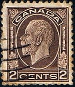 Canada 1932 SG 320 George V Head Fine Used