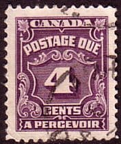 Canada Stamps 1935 Postage Due D21 Fine used Scott J17