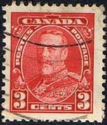 Canada 1935 SG 343 George V Head Fine Used