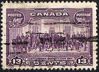Canada 1935 SG 348 Charlottestown Confederation Used