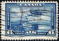 Canada 1937 SG 371 Air Flying Boat and Ferry Fine Used