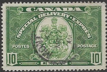 Canada 1938 SG S 9 Special Delivery Fine Used