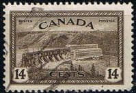 Canada 1946 SG 403 St Maurice Power Station Fine Used