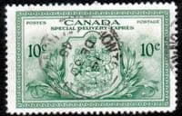 Canada 1946 SG S15 Special Delivery Peace Fine Used