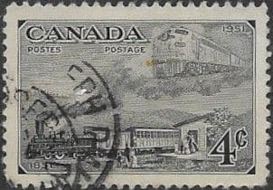 Canada 1951 Centenary of First Canadian Postage Stamp SG 436 Fine Used
