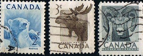 Canada 1953 National Wild Life Week Fine Used