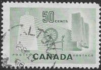 Canada 1953 SG 462 Textile Industry Fine Used