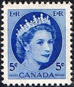 Canada 1953 SG 467 Queen Elizabeth Head Fine Mint
