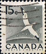 Canada 1954 Northern Gannet SG 474 Fine Used