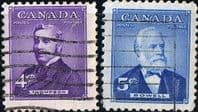 Canada 1954 Prime Ministers Set Fine Used