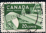 Canada 1955 Industries SG 488 Fine Used