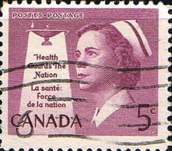 Canada 1958 SG 506 National Health Fine Used