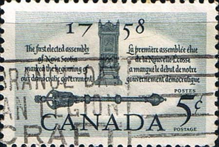 Canada 1958 SG 508 First Elected Assembly Fine Used