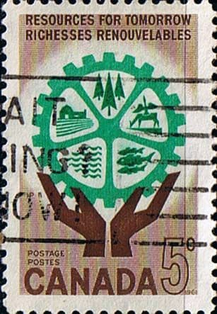 Canada 1961 Natural Resources Fine Used
