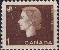 Canada 1962 Queen Elizabeth II and industry symbols SG 527 Fine Mint