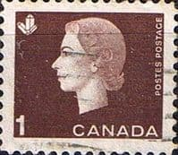 Canada 1962 Queen Elizabeth II and industry symbols SG 527 Fine Used