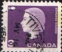 Canada 1962 Queen Elizabeth II and industry symbols SG 529 Fine Used