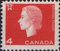 Canada 1962 Queen Elizabeth II and industry symbols SG 530 Fine Mint