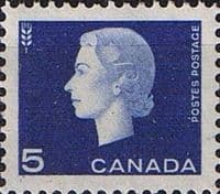 Canada 1962 Queen Elizabeth II and industry symbols SG 531 Fine Mint