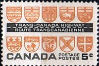 Canada 1962 Trans-Canada Highway Fine Mint