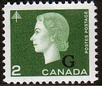 Canada 1963 SG O209 Official Overprint