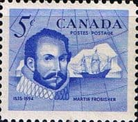 Canada 1963 Sir Martin Frobisher Fine Mint