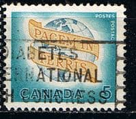Canada 1964 Peace on Earth Fine Used
