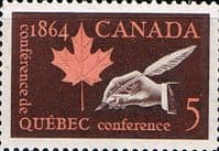 Canada 1964 Quebec Conference Fine Mint