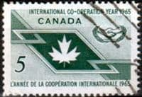 Canada 1965 International Co-operation Year SG 562 Fine Used