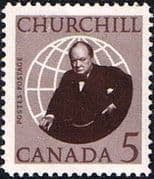 Canada 1965 SG 565 Churchill Commemoration Fine Mint