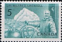 Canada 1965 Wilfred Grenfell Fine Mint