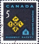 Canada 1966 Highway Safety Fine Used