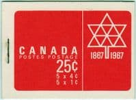 Canada 1967 Canadian Booklet SB 59 Fine Mint